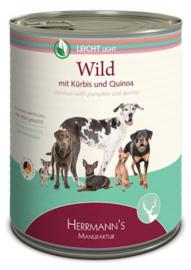 Herrmanns Light Hert met Pompoen, Quinoa en Bosbes 400gr