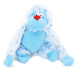 Harige Aap Blauw 30cm