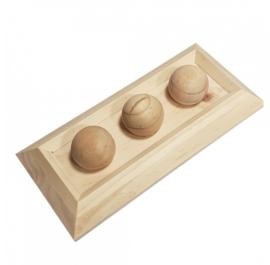 Knaagdierspeelgoed Houten Sniffle `n Snack Puzzel Fay 28x13x6cm