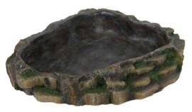 Water- en voerschaal Regenwoud Large - 24 x 5,5 x 20 cm