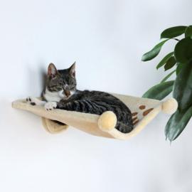 Pluche Kattenhangmat voor aan de Muur