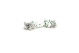 Flossytouw wit, groen met mintsmaak Mini