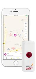 Weenect GPS Tracker Kat - met Triller en Bel