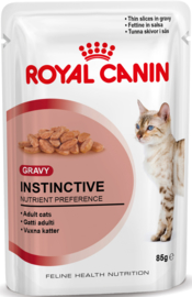 Royal Canin Adult Instinctive in Saus Pouch 12x85gr