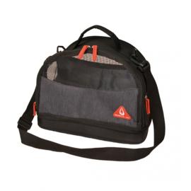 Promenade London Travel Bag Preppy 3in1 Zwart 35x21x27,5cm