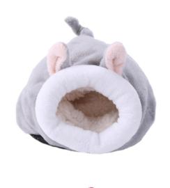 Hamsterhuis Bunny Grijs