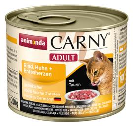 Carny Adult Rund, Kip & Eend 200gr