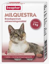 Milquestra Wormtabletten Kat 4 tabl.