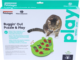 Nina Ottoson Kattenspel Puzzle & Play Buggin Out