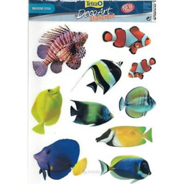 Tetra Decoarts Stickerset Marine Fish