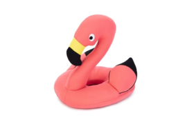 Flamingo - Drijvend Hondenspeelgoed - Neopreen - Roze - 21x21x23 cm