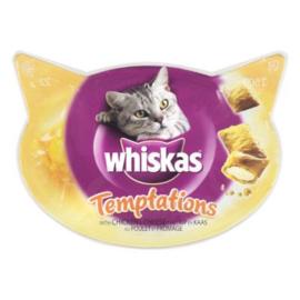 Whiskas Temptations Kip & Kaas 60 gram