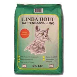 Linda Hout Kattenbakvulling 25ltr