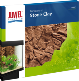 Juwel 3D Achterwand - Stone Clay - 60x55cm