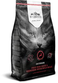 Riverwood Kat Graanvrij, Outdoor (Eend, Rendier en Wild Zwijn) 2kg