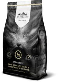 Riverwood Kat Graanvrij, Sterilised (Hert, Lam en Wild Zwijn) 6kg