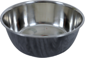 Hondenbak RVS deco grijs, 1890 ml