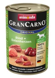Grancarno Adult Rund & Eendenhart 400gr
