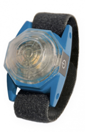 Veiligheidslamp Hond - Flashlight Octa USB - Blauw