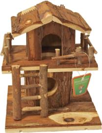 Hamsterhuis Boomhut Natural 22cm