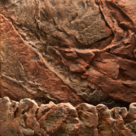 3D Achterwand - Cliff Dark - 60x55cm