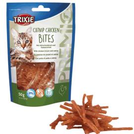 Catnip Chicken Bites Kattensnack 50gr