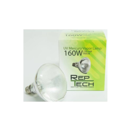 Reptech UV Kwikdamplamp 160W