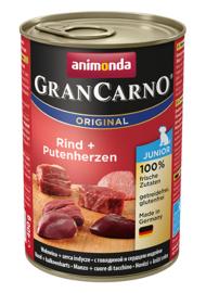 Grancarno Puppy/Junior Rund & Kalkoenhart 400gr