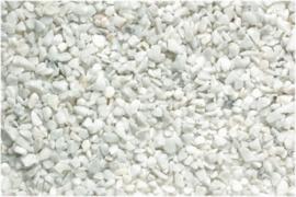 Aquariumgrind Carrara Split 9 tot 11mm, 1kg