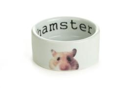 Hamster eetbak snapshot wit 9cm