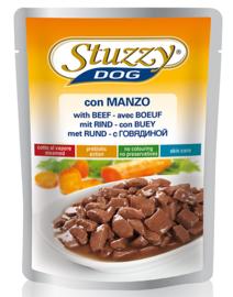 Stuzzy Dog Food Pouch Rund 100gr
