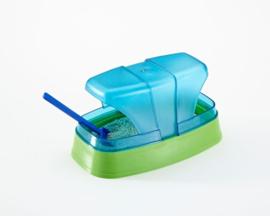 Hamster Toilet 17x10x10cm - met Grit en Schepje