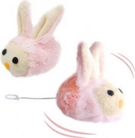Trillend Konijn Katten Speeltje, Shaking Rabbit 7,6 cm