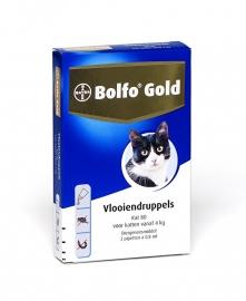 Bolfo Gold 40 Kat vanaf 4 kg 2 pipetten