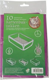 Bio-kattenbakzak Lavendel Large