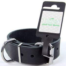 Halsband Vetleer Zwart 35mmX45cm