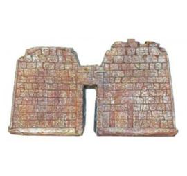 Dubbele Muur met Poort