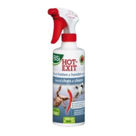 Honden en Katten Bestrijding BSI Hot Exit 500ml
