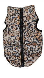 Bodywarmer luipaard print  €14,95