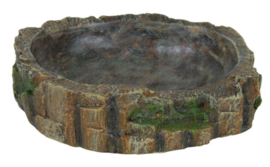 Water- en Voerschaal Regenwoud Small - 13 x 3,5 x 11 cm