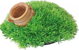 Greenmos met Pot en Uitstromer 21x9,5cm