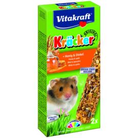 Vitakraft Hamster Kracker Honing Spelt 112 gram