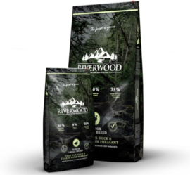 Riverwood Junior Large Breed Graanvrij(Eend, Kalkoen en Fazant) 2kg