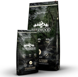 Riverwood Adult Lamb, Venision & Rabbit Graanvrij 2kg
