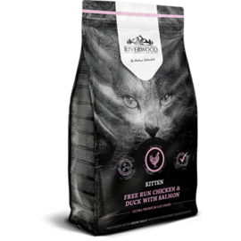Riverwood Kitten Graanvrij (Kip, Eend en Zalm) 2kg