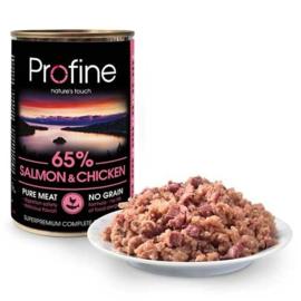 Profine Pure Meat Zalm/Kip Graanvrij 400gr