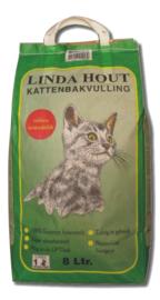 Linda Hout Kattenbakvulling 8ltr