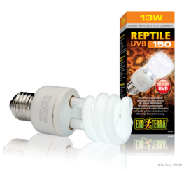 Exo Terra Reptile UVB150 Woestijn Terrariumlamp 13W