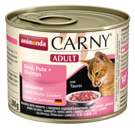 Carny Adult Rund, Kalkoen & Garnalen 200gr