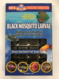 Diepvries Ruto Zwarte Muggenlarven Blister 100gr €2,99